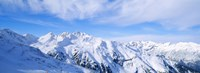 Snow Covered Alps Schonjoch Tirol Austria