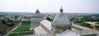 """Cathedral in a city, Pisa Cathedral, Piazza Dei Miracoli, Pisa, Tuscany, Italy by Panoramic Images - 25"""" x 9"""", FulcrumGallery.com brand"""