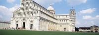 """Tower with a cathedral, Leaning Tower Of Pisa, Pisa Cathedral, Piazza Dei Miracoli, Pisa, Tuscany, Italy by Panoramic Images - 25"""" x 9"""" - $28.99"""