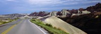 "Badlands National Park, South Dakota by Panoramic Images - 27"" x 9"", FulcrumGallery.com brand"