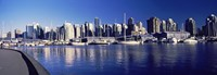 """Marina View, Vancouver, British Columbia, Canada 2013 by Panoramic Images, 2013 - 26"""" x 9"""""""