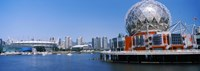 """Science Museum at the waterfront, Vancouver, Canada by Panoramic Images - 26"""" x 9"""""""