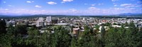 """High angle view of a city, Spokane, Washington State by Panoramic Images - 27"""" x 9"""" - $28.99"""