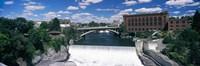 "Monroe Street Bridge across Spokane River, Spokane, Washington State by Panoramic Images - 27"" x 9"", FulcrumGallery.com brand"
