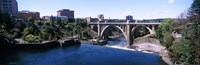 Monroe Street Bridge Spokane Washington State