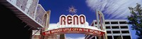 """Reno Arch, Reno, Nevada by Panoramic Images - 32"""" x 9"""""""