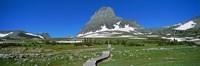 "Hidden Lake Nature Trail at US Glacier National Park, Montana, USA by Panoramic Images - 27"" x 9"""