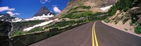 """Going-to-the-Sun Road at US Glacier National Park, Montana, USA by Panoramic Images - 28"""" x 9"""", FulcrumGallery.com brand"""
