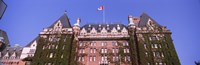 """Low angle view of the Empress Hotel, Victoria, Vancouver Island, British Columbia, Canada by Panoramic Images - 28"""" x 9"""" - $28.99"""