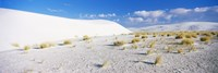 """White Sands and Blue Sky, New Mexico by Panoramic Images - 27"""" x 9"""" - $28.99"""