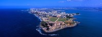"""Aerial view of the Morro Castle, San Juan, Puerto Rico by Panoramic Images - 25"""" x 9"""""""