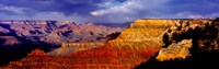 "Spectators at the Grand Canyon, Grand Canyon, Grand Canyon National Park, Arizona, USA by Panoramic Images - 28"" x 9"""