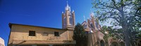 Low angle view of a church, San Felipe de Neri Church, Old Town, Albuquerque, New Mexico, USA Fine Art Print