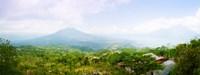 Volcanos and Lake Batur, Kintamani, Bali, Indonesia Fine Art Print