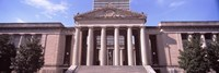 """Facade of the War Memorial Auditorium, Nashville, Tennessee by Panoramic Images - 27"""" x 9"""""""