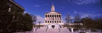 """Government building in a city, Tennessee State Capitol, Nashville, Davidson County, Tennessee, USA by Panoramic Images - 27"""" x 9"""" - $28.99"""