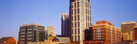 """Buildings in a downtown district, Nashville, Tennessee, USA 2013 by Panoramic Images, 2013 - 28"""" x 9"""""""