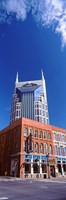 "BellSouth Building in Nashville, Tennessee by Panoramic Images - 9"" x 27"""