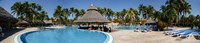 Swimming pool of a hotel, Varadero, Matanzas, Cuba Fine Art Print
