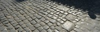 "Cobblestones, Plaza de la Catedral, Havana, Cuba by Panoramic Images - 28"" x 9"""