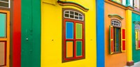 Colorful Building in Little India Singapore