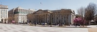 """The North face of the U.S. Treasury Building at The Mall, Washington DC, USA by Panoramic Images - 27"""" x 9"""""""