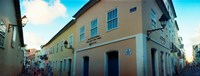 "Buildings in a city, Pelourinho, Salvador, Bahia, Brazil by Panoramic Images - 24"" x 9"""