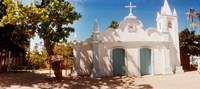 "Facade of a small church, Salvador, Bahia, Brazil by Panoramic Images - 20"" x 9"""