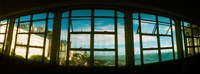 "Coast viewed through from a window of Lacerda Elevator, Pelourinho, Salvador, Bahia, Brazil by Panoramic Images - 24"" x 9"""
