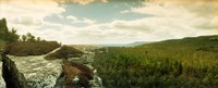"""Gertrude's Nose hiking trail in Minnewaska State Park, Catskill Mountains, New York State, USA by Panoramic Images - 22"""" x 9"""""""