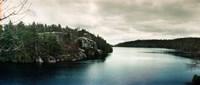 "Lake Minnewaska in Minnewaska State Park, Catskill Mountains, New York State, USA by Panoramic Images - 21"" x 9"""