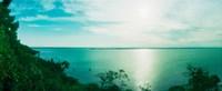 "Clouds over the ocean, Morro De Sao Paulo, Tinhare, Cairu, Bahia, Brazil by Panoramic Images - 22"" x 9"", FulcrumGallery.com brand"