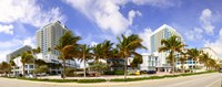 """Hotel in a city, Fort Lauderdale, Florida, USA by Panoramic Images - 23"""" x 9"""""""