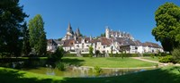 """Royal Apartments and Collegiate Church of Saint Ours, Loches, Loire-et-Cher, Loire, Touraine, France by Panoramic Images - 19"""" x 9"""""""