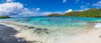 "Hawksnest Beach, St. John, US Virgin Islands by Panoramic Images - 21"" x 9"""