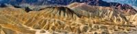 Zabriskie Point, Death Valley, Death Valley National Park, California Fine Art Print