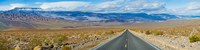 "Road passing through a desert, Death Valley, Death Valley National Park, California, USA by Panoramic Images - 36"" x 9"""