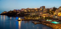 "Buildings at the waterfront, Funchal, Madeira, Portugal by Panoramic Images - 18"" x 9"""