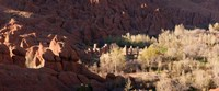 "Rock formations in the Dades Valley, Dades Gorges, Ouarzazate, Morocco by Panoramic Images - 22"" x 9"""