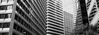 "Facade of office buildings, San Francisco, California by Panoramic Images - 25"" x 9"" - $28.99"