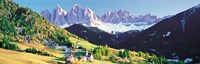 """Dolomite Italy by Panoramic Images - 38"""" x 12"""", FulcrumGallery.com brand"""