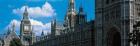 """Victoria Tower & Big Ben London England by Panoramic Images - 36"""" x 12"""""""