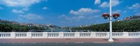 "Wilson Bridge Lyon France by Panoramic Images - 36"" x 12"" - $34.99"