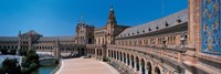 "Plaza Espana Seville Andalucia Spain by Panoramic Images - 36"" x 12"""