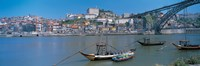 """Ponte de Dom Luis I & Douro River Porto Portugal by Panoramic Images - 36"""" x 12"""""""