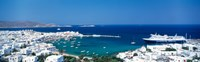 """Mykonos Island Greece by Panoramic Images - 38"""" x 12"""""""