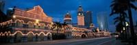 """Kuala Lumphur Malaysia by Panoramic Images - 36"""" x 12"""""""