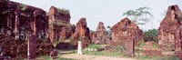 """Ruins of temples, Champa, My Son, Vietnam by Panoramic Images - 37"""" x 12"""""""