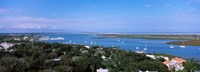 """High angle view from top of lighthouse, St. Augustine, Florida, USA by Panoramic Images - 34"""" x 12"""""""