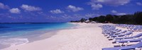 """Shoal Bay Beach, Anguilla by Panoramic Images - 34"""" x 12"""", FulcrumGallery.com brand"""